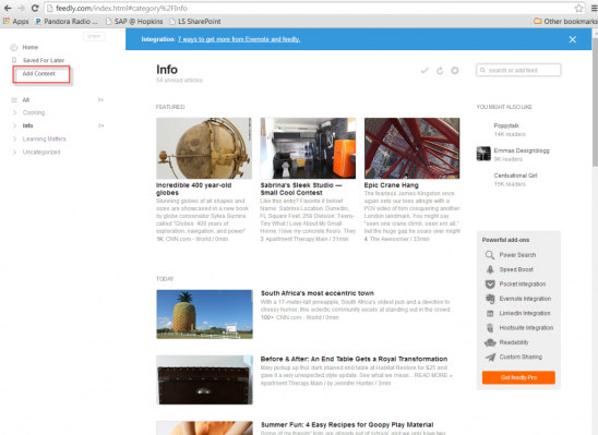 RSS – Streamline How You View Content on the Internet