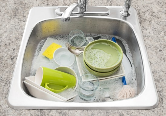 Wash the Dishes — You'll Feel Better