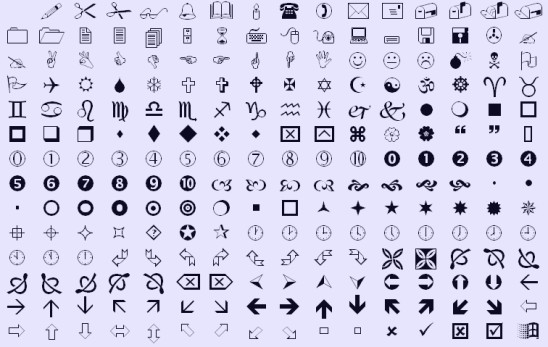 The Mystery of Wingdings