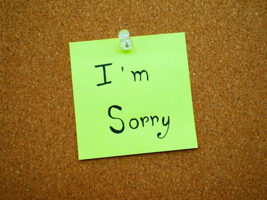 How to Stop Saying You're Sorry