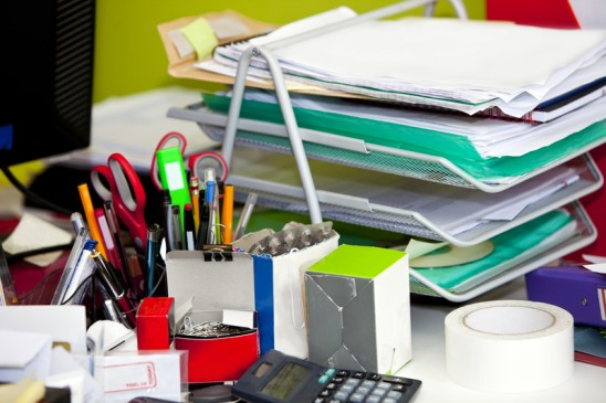 Do You Have a Messy Desk? You Might Be a Genius.