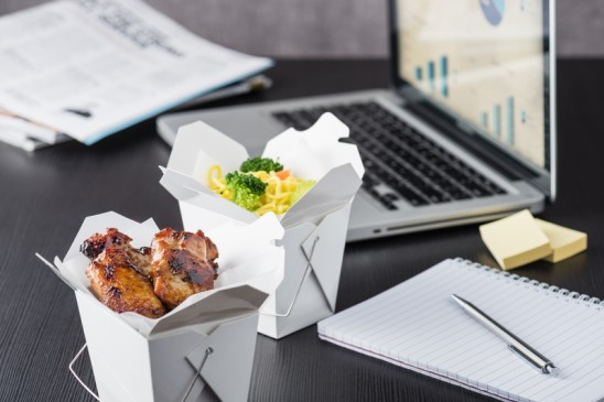 Don't Eat Lunch at Your Desk